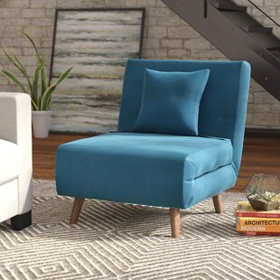 Wolfe Convertible Chair Mercury Row