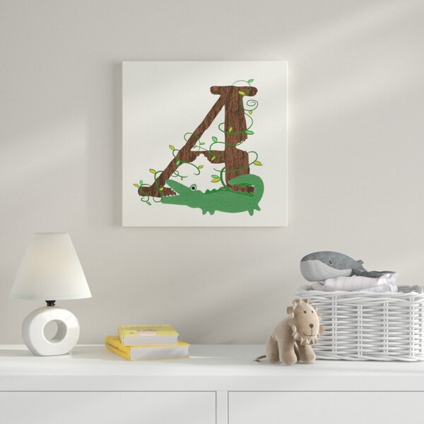 A Framed Graphic Art on Wrapped Canvas by Zoomie Kids