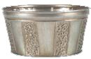 Insley Metal Pot Planter by August Grove