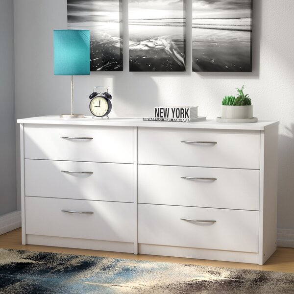 Karis 6 Drawer Double Dresser by Zipcode Design