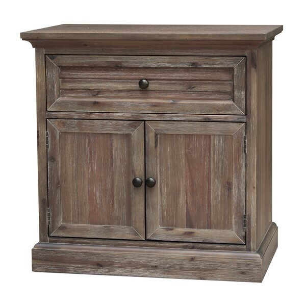 Kaori 1 Drawers Nightstand by Gracie Oaks