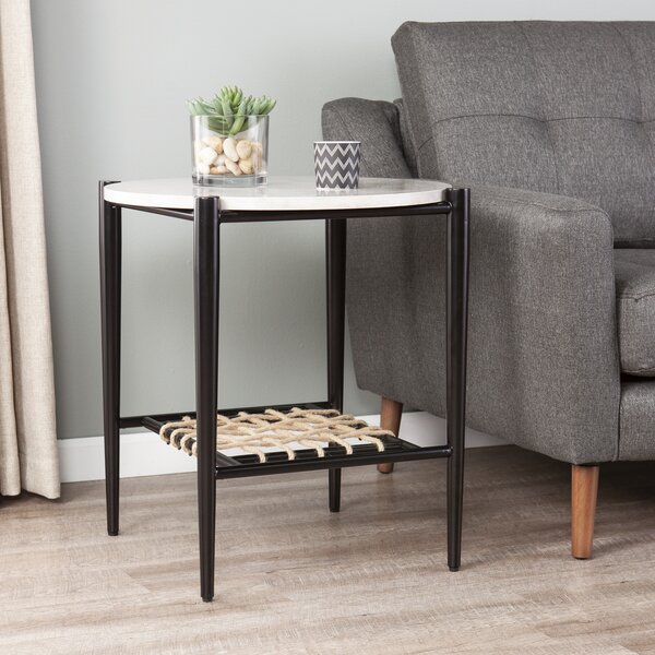 Wokingham End Table By Wrought Studio