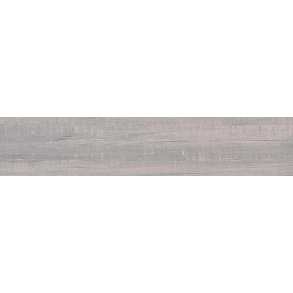 Belmond Pearl 8 x 40 Ceramic Wood Look Tile in White by MSI
