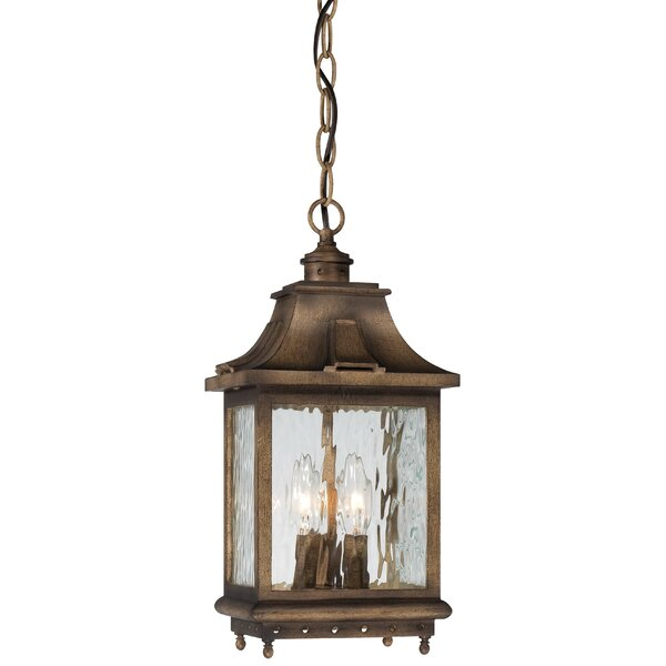 Danville 3-Light Outdoor Hanging Lantern by Darby Home Co