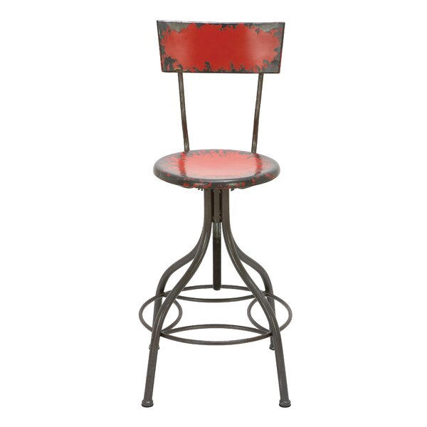 Lomita Adjustable Height Swivel Bar Stool by Trent Austin Design