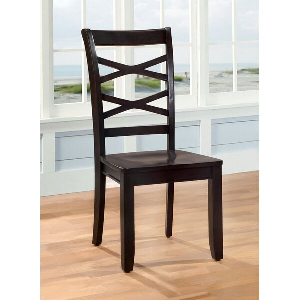 Waynesville Solid Wood Dining Chair (Set of 2) by Breakwater Bay