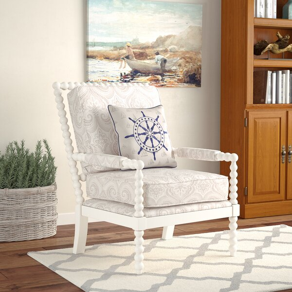 Shellplant Slipper Chair by Bay Isle Home