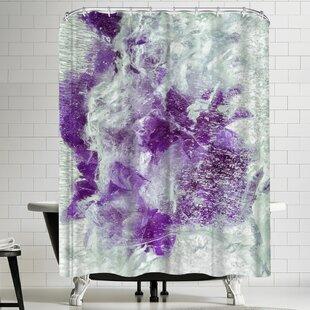 Comparison Zina Zinchik Purple Dragon Shower Curtain ByEast Urban Home