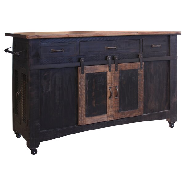 Bergeronnes Kitchen Island by Gracie Oaks