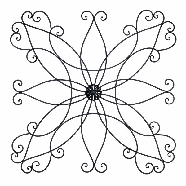 Ornamental Miracle Metal Wall Art Accent