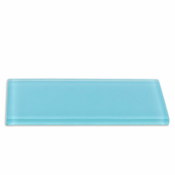 Contempo 3 x 6 Ceramic Subway Tile in Turquoise by Splashback Tile