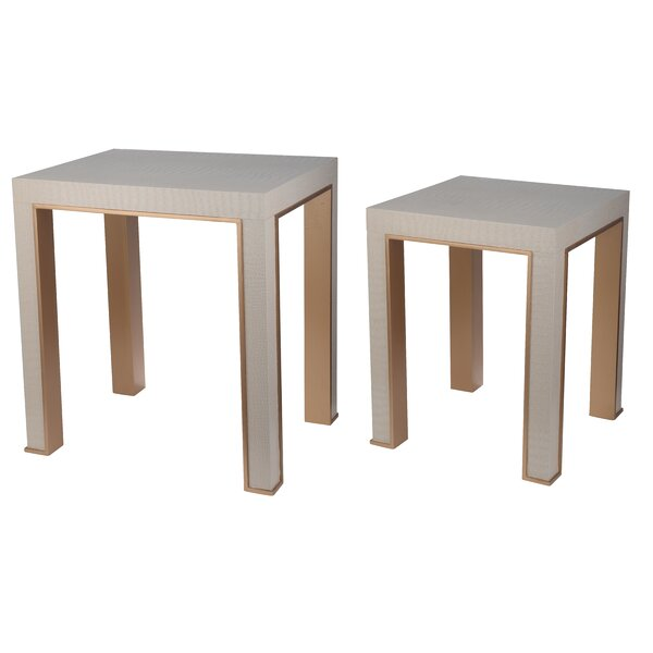 Januario 2 Piece Nesting Tables by Willa Arlo Interiors Willa Arlo Interiors