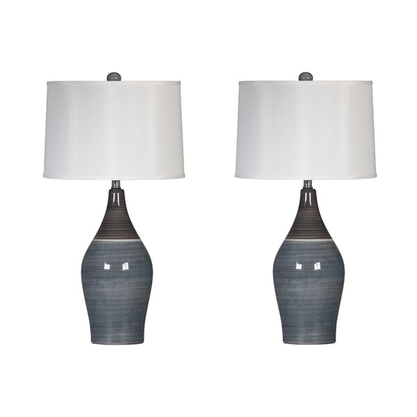 Griggsville 28 Table Lamp (Set of 2) by Three Posts