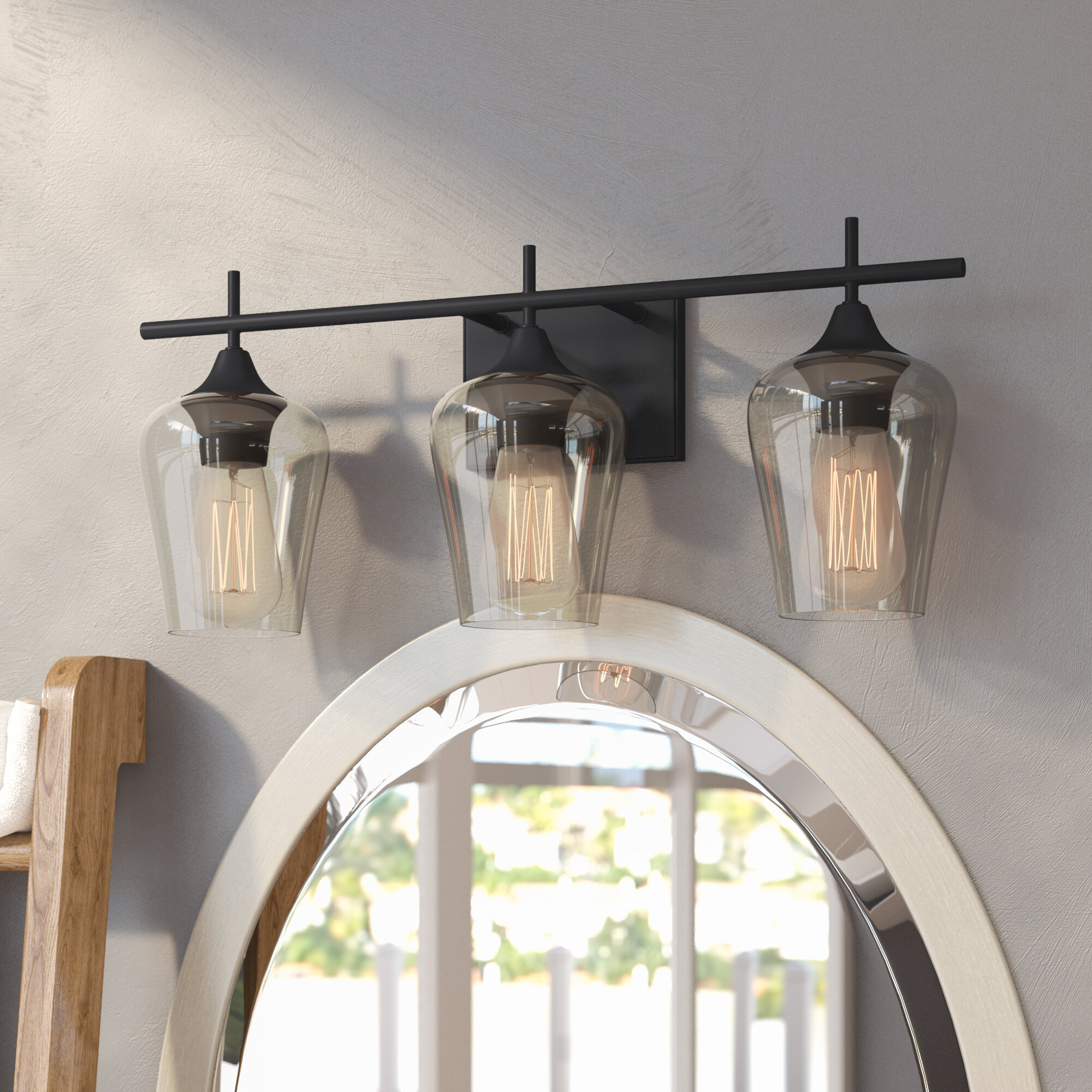 huge discount 05b1d f81e0 Industrial Vanity Lights | Birch Lane