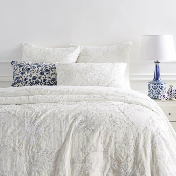 Addison Embroidered Single Coverlet