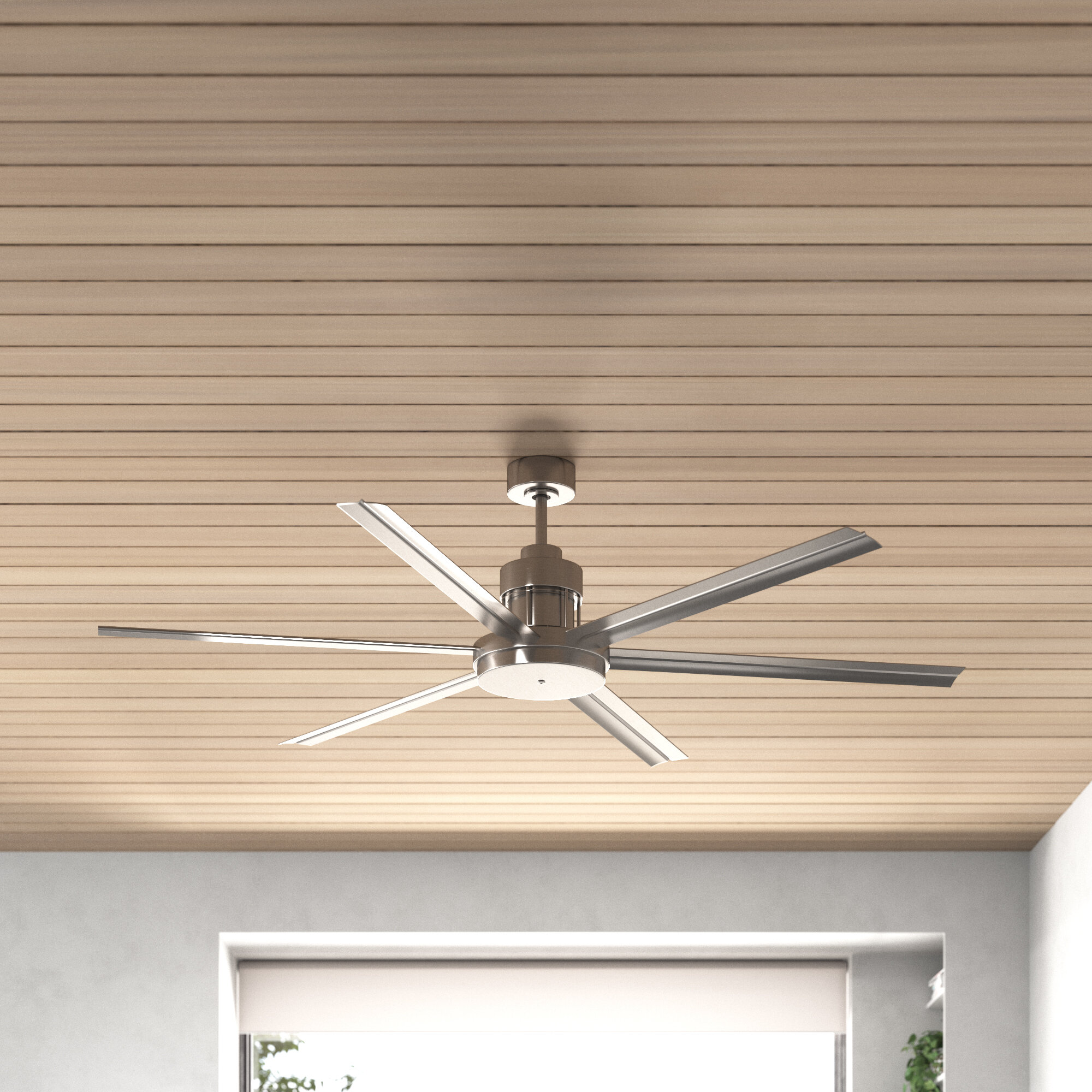 72 Tona 6 Blade Standard Ceiling Fan With Remote Control Reviews Allmodern