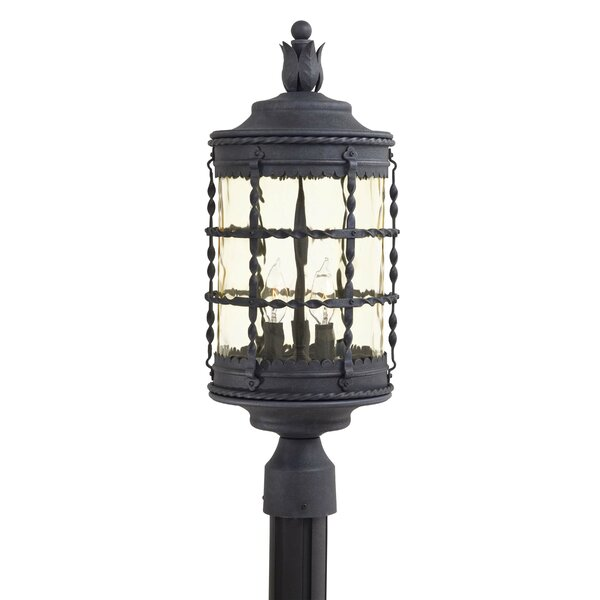Calem Outdoor 3-Light Lantern Head by Gracie Oaks
