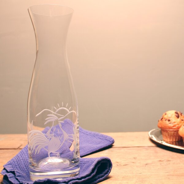 Rooster Serving 34 oz Carafe by Rolf Glass