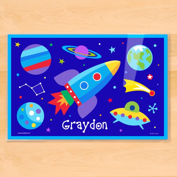 Out of This World Personalized Placemat by Olive Kids