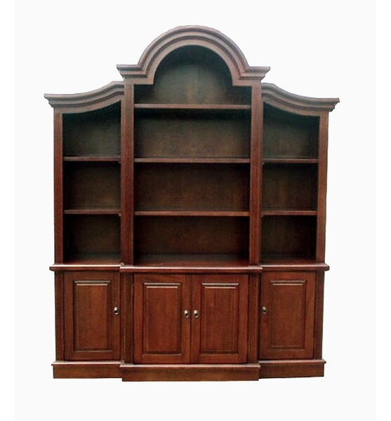 Gallagher Arch Top Oversized Set Bookcase by Canora Grey