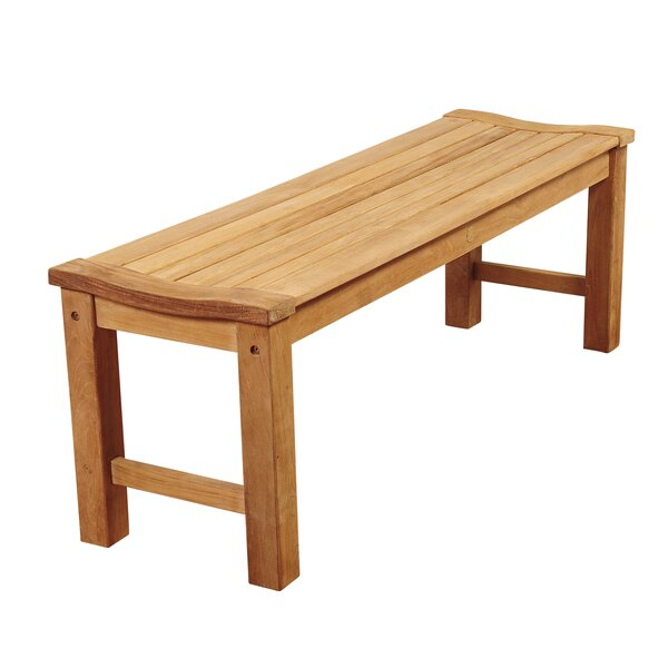 Elsmere Teak  Picnic Bench by Beachcrest Home