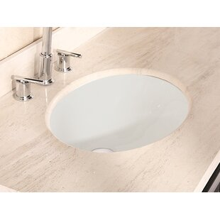 Best Ceramic Oval Undermount Bathroom Sink with Overflow ByRoyal Purple Bath Kitchen