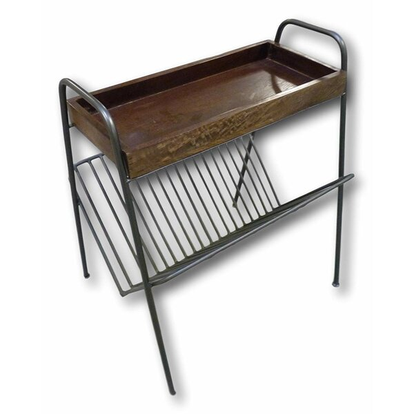 Nord Magazine End Table by Williston Forge