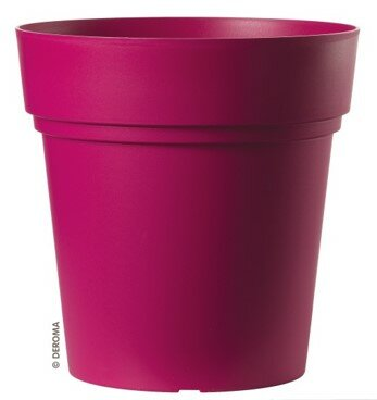 Samba Injection Plastic Pot Planter by Deroma
