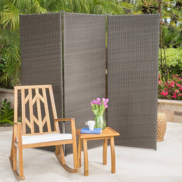 Attrayant Darby Home Co Abdul Outdoor 3 Panel Room Divider U0026 Reviews | Wayfair