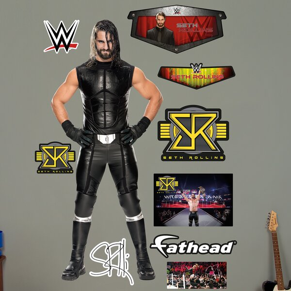 WWE Seth Rollins Peel and Stick Wall Decal by Fathead