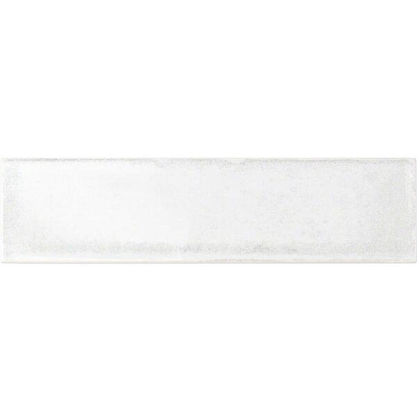 Moze 3 x 12 Ceramic Subway Tile in White by Splashback Tile