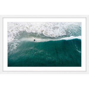 'Catch That Wave' Framed Print by Marmont Hill