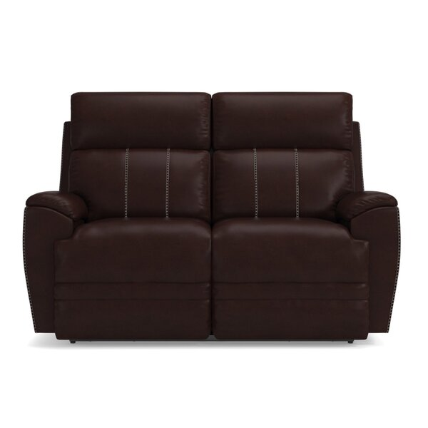 Talladega Reclining 62.5-inch Pillow Top Arm Loveseat By La-Z-Boy