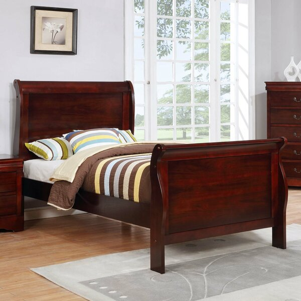 Ivywood Sleigh Bed by Alcott Hill