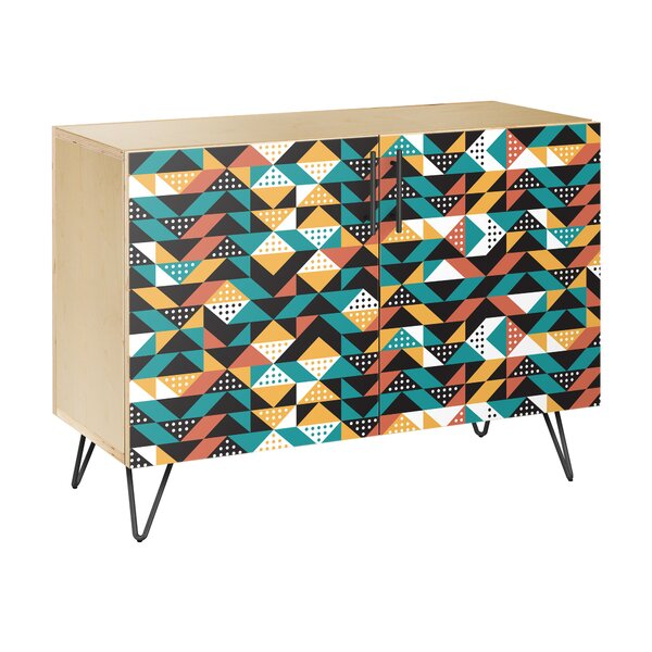 Armour Square 2 Door Cabinet by Bloomsbury Market
