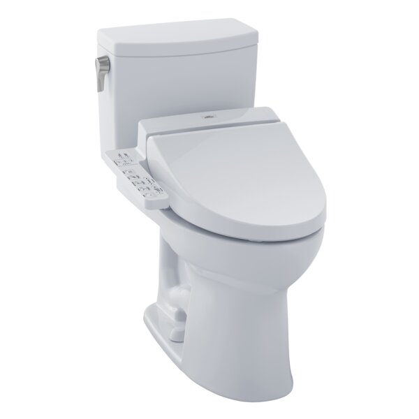 Drake® II 1.0 GPF Elongated Two-Piece Toilet by Toto