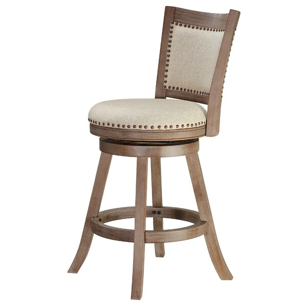 Dorrell 25 Swivel Bar Stool by Gracie Oaks