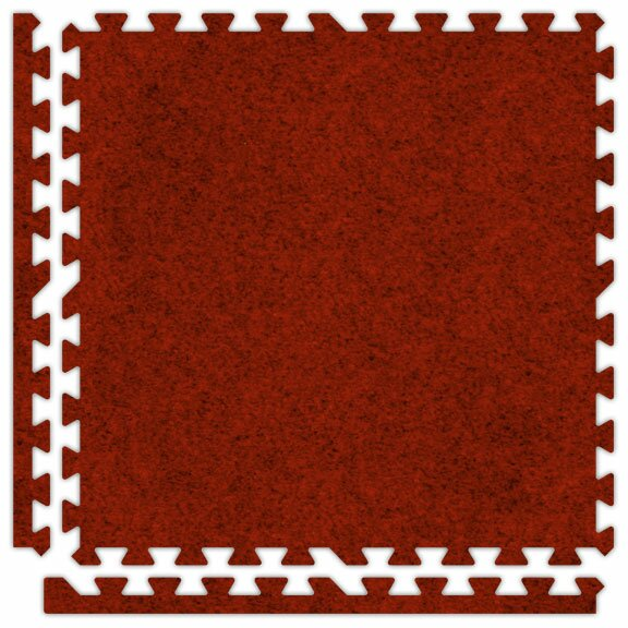 SoftCarpets Set in Red by Alessco Inc.