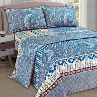 Paisley Monarch 1000 Thread Count Sheet Set