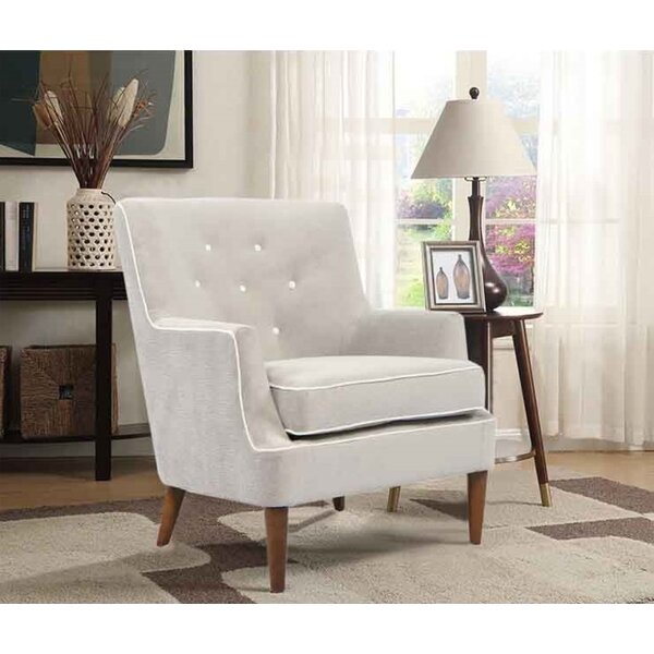 Brannen Upholstered Armchair by Corrigan Studio