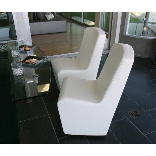 Scoop Club Upholstered Dining Chair by La-Fete La-Fete
