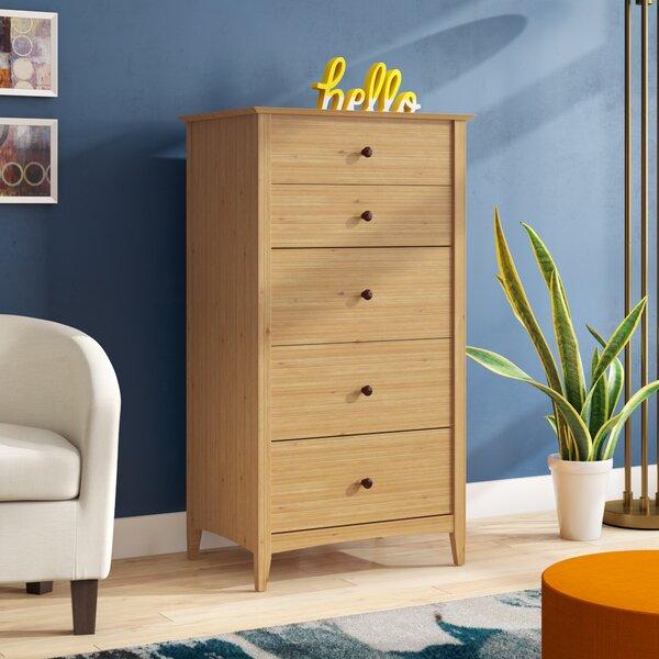 Ethelsville 5 Drawer Standard Dresser/Chest by Wrought Studio