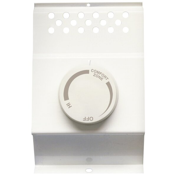 Cadet Double-Pole Non-Programmable Thermostat By Cadet