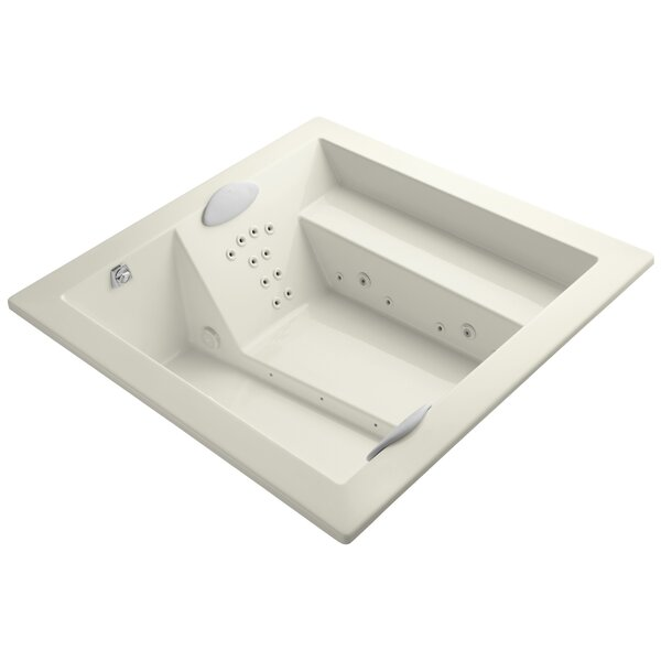 Consonance 72 x 72 Whirlpool Bathtub by Kohler