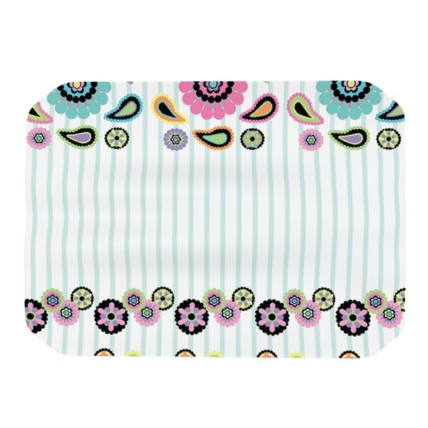 Paisley Party Placemat by KESS InHouse