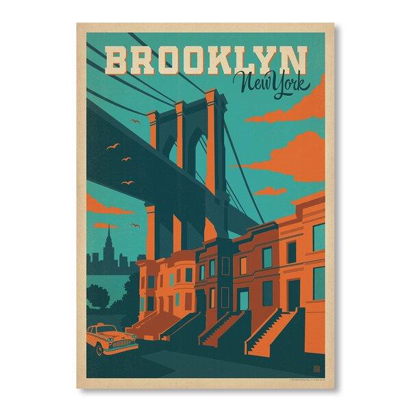 NYC Brooklyn Vintage Advertisement by East Urban Home