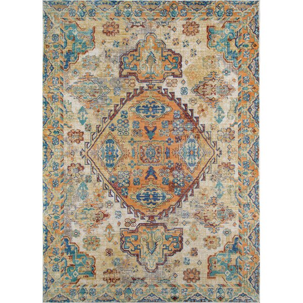 Lawler Ivory Area Rug by World Menagerie