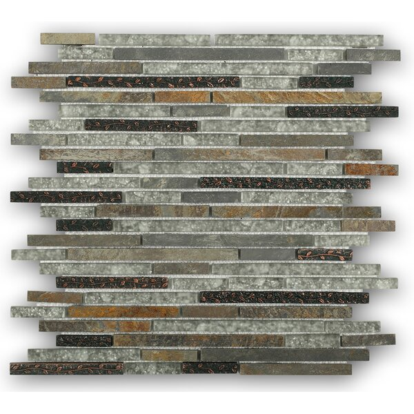 Paradise Random Sized Mixed Material Mosaic Tile in Utopia by Splashback Tile