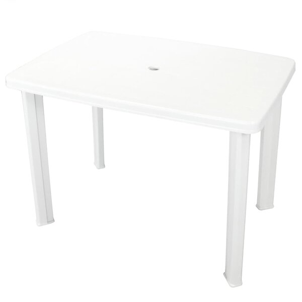 Boyd Plastic Dining Table by Symple Stuff