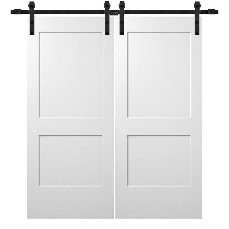 Verona Home Design Paneled Wood Primed Molded Interior